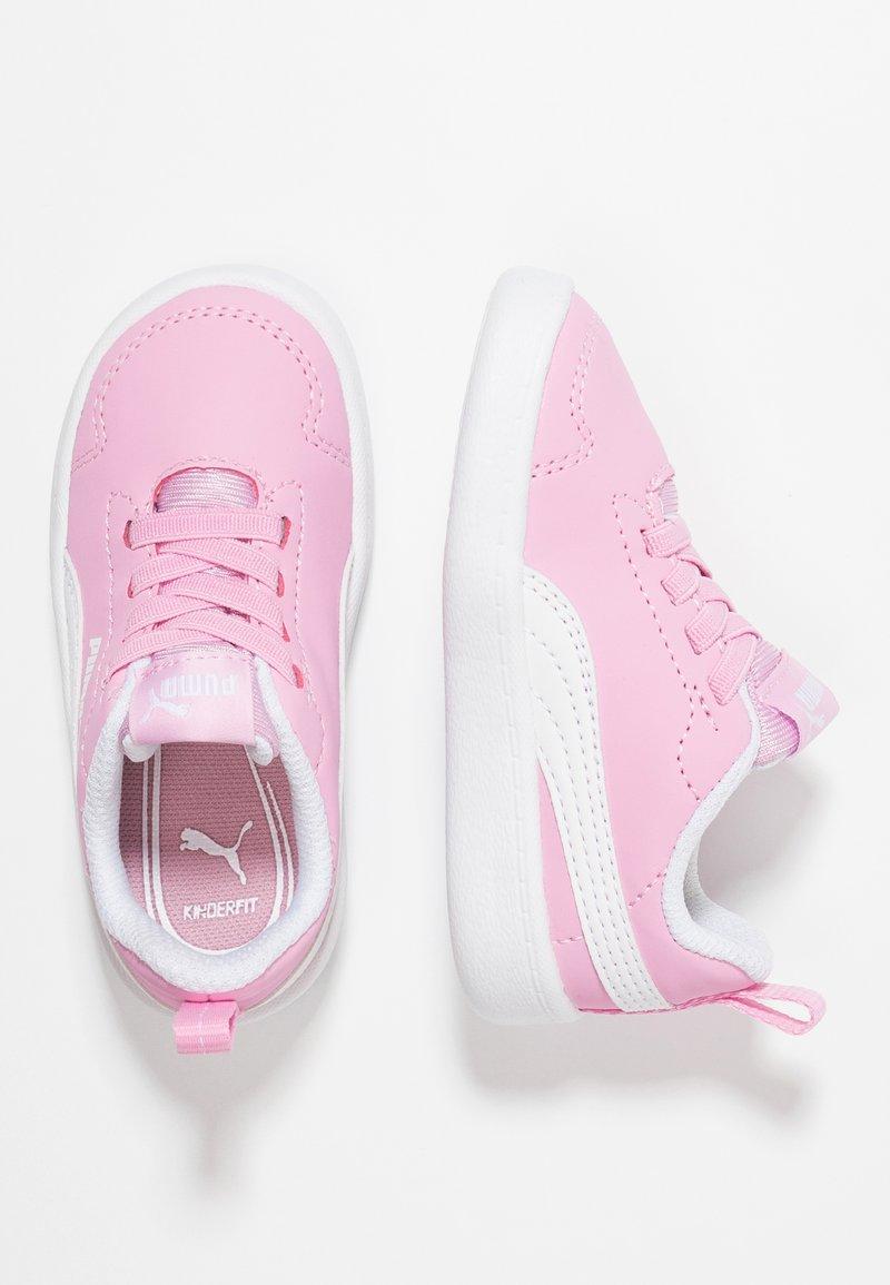 Puma - COURTFLEX - Babyschoenen - pale pink/white