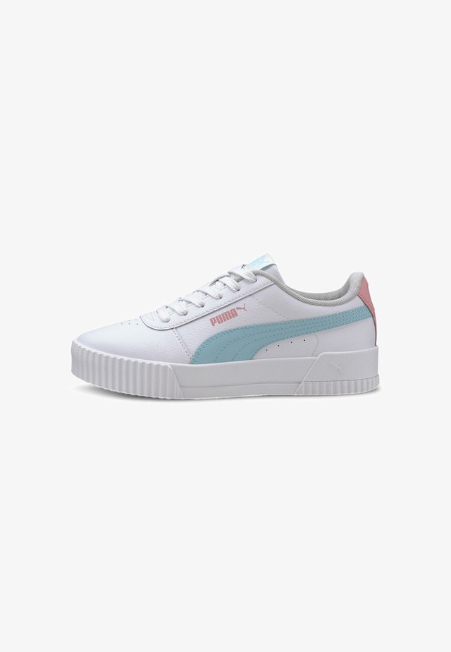 PUMA CARINA L YOUTH TRAINERS MÄDCHEN - Trainers - white