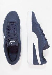Puma - SMASH - Baskets basses - peacoat/white - 0
