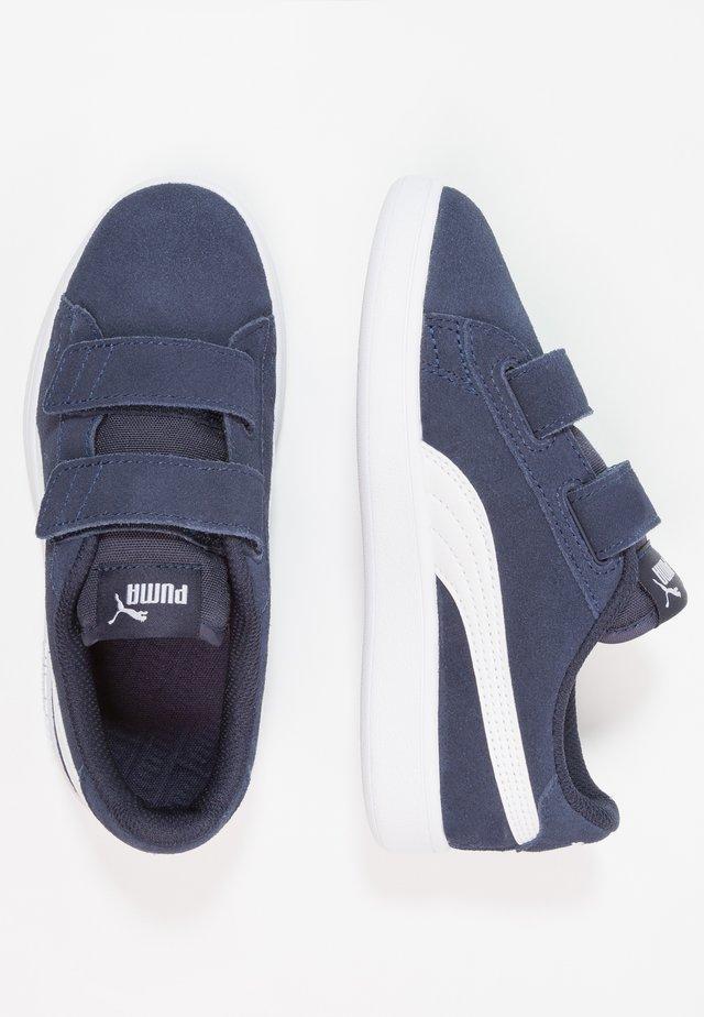 PUMA SMASH V2 SD V PS - Sneakers - peacoat/white