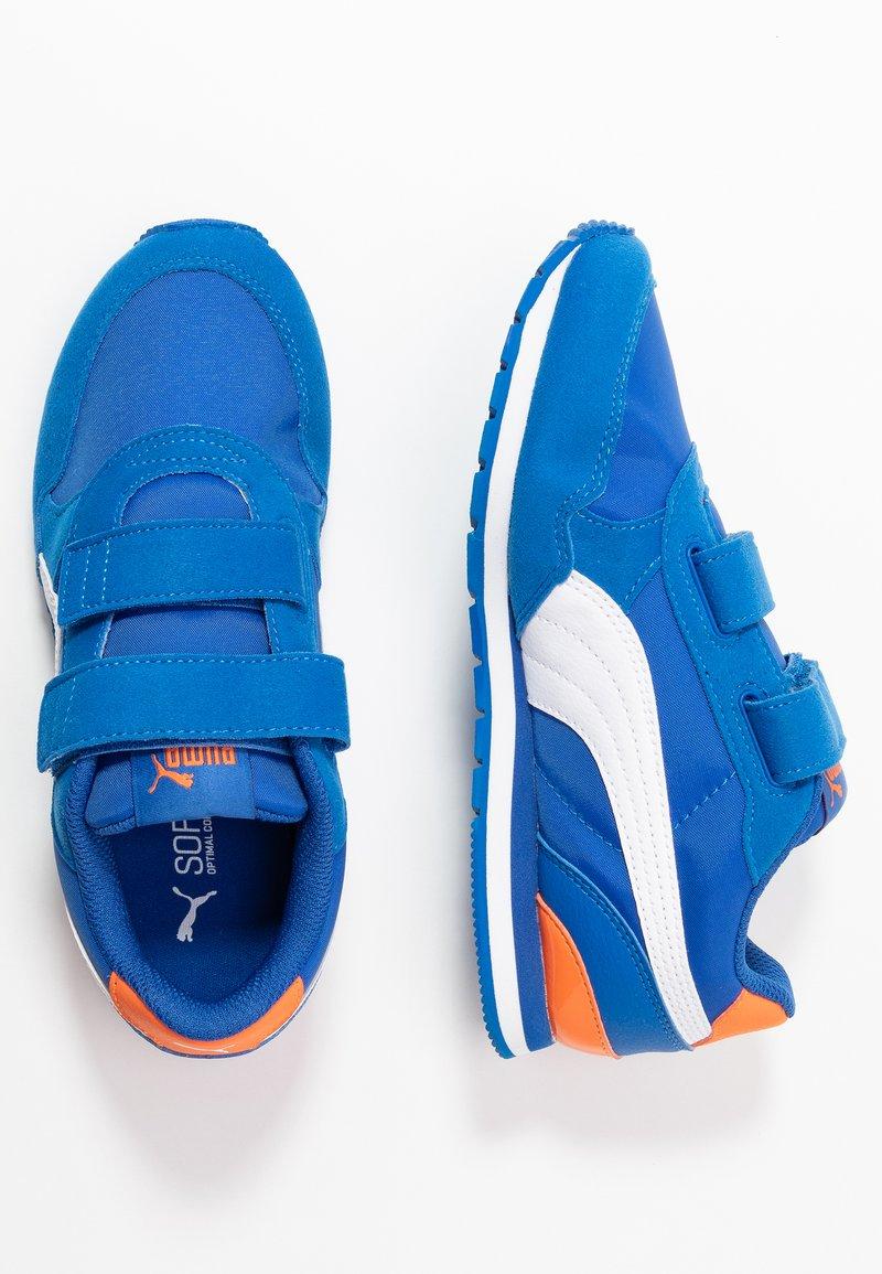 Puma - ST RUNNER V2 - Sneakers laag - lapis blue/white/dragon fire