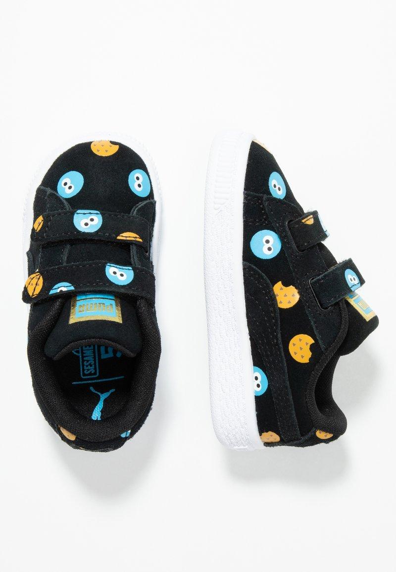 Puma - SESAME STR 50 BADGE  - Sneaker low - black/bleu azur