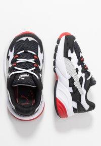 Puma - CELL ALIEN - Mocassins - black/high risk red - 0