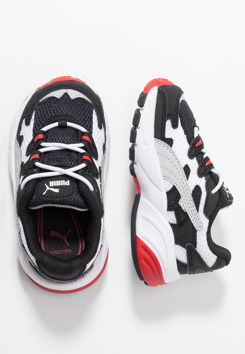 Puma - CELL ALIEN - Mocassins - black/high risk red
