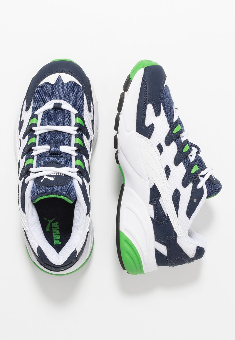 Puma - CELL ALIEN - Sneakers basse - white/peacoat