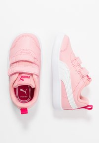 Puma - COURTFLEX  - Baskets basses - peony/right rose - 0
