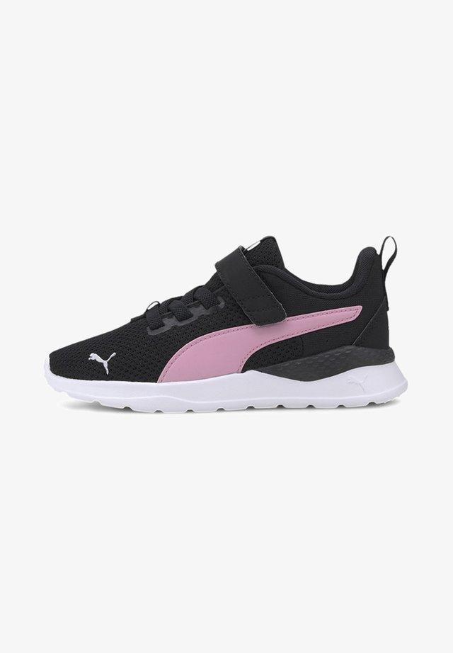 Sneakers - black-pale pink-silver