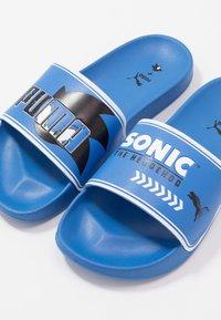 Puma - SEGA LEADCAT SONIC  - Pantofle - palace blue/white - 6