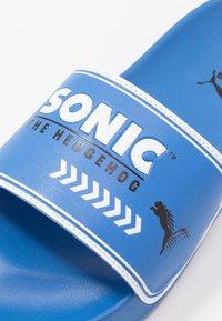 Puma - SEGA LEADCAT SONIC  - Pantofle - palace blue/white - 2