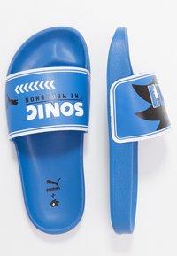 Puma - SEGA LEADCAT SONIC  - Pantofle - palace blue/white - 0