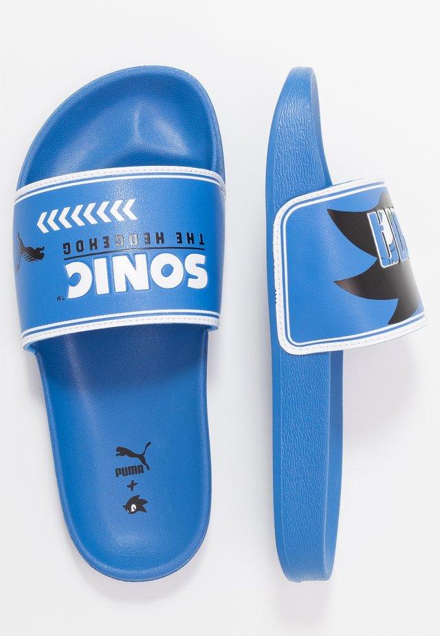 SEGA LEADCAT SONIC  - Pantofle - palace blue/white
