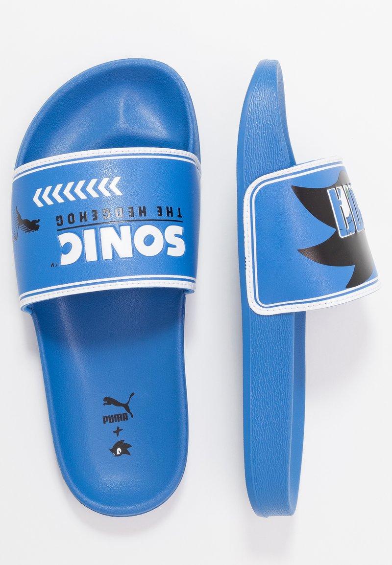 Puma - SEGA LEADCAT SONIC  - Pantofle - palace blue/white