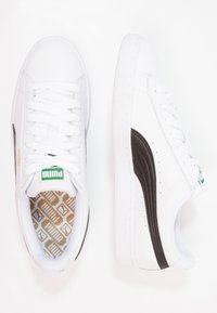 Puma - BASKET CLASSIC - Trainers - white/black - 1