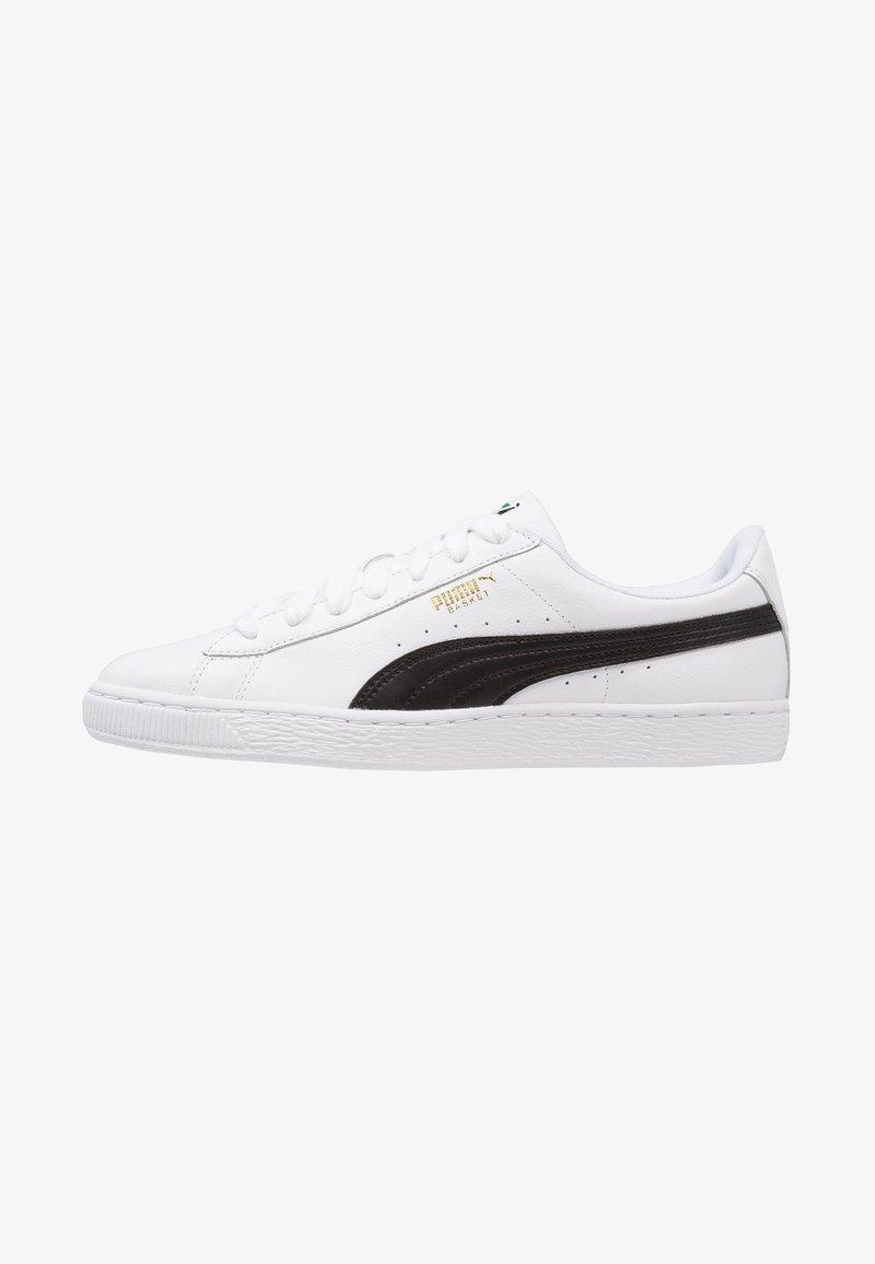 Puma - BASKET CLASSIC - Trainers - white/black