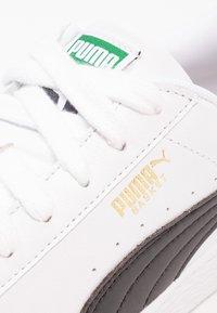 Puma - BASKET CLASSIC - Trainers - white/black - 5