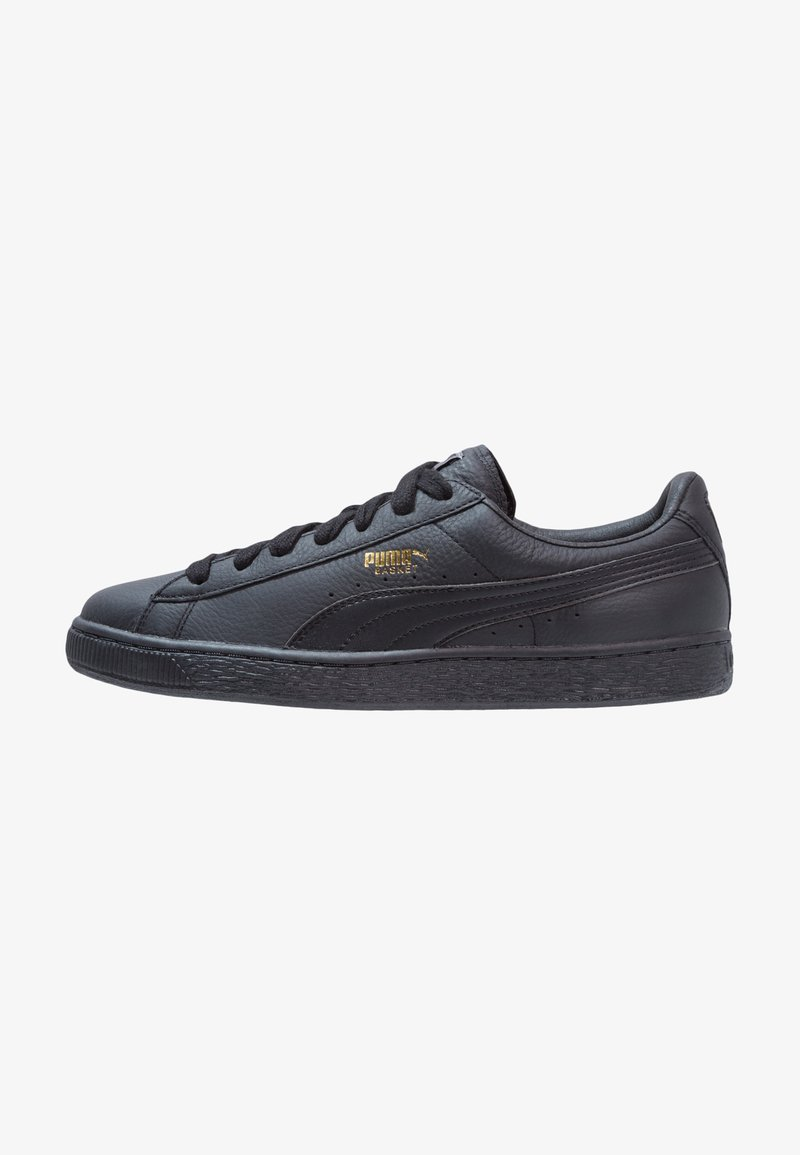 Puma - BASKET CLASSIC - Sneakers laag - black/team gold