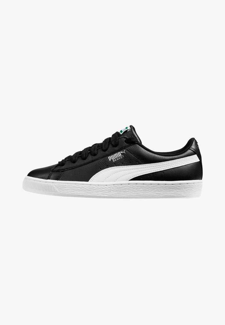 Puma - BASKET CLASSIC - Trainers - black-white