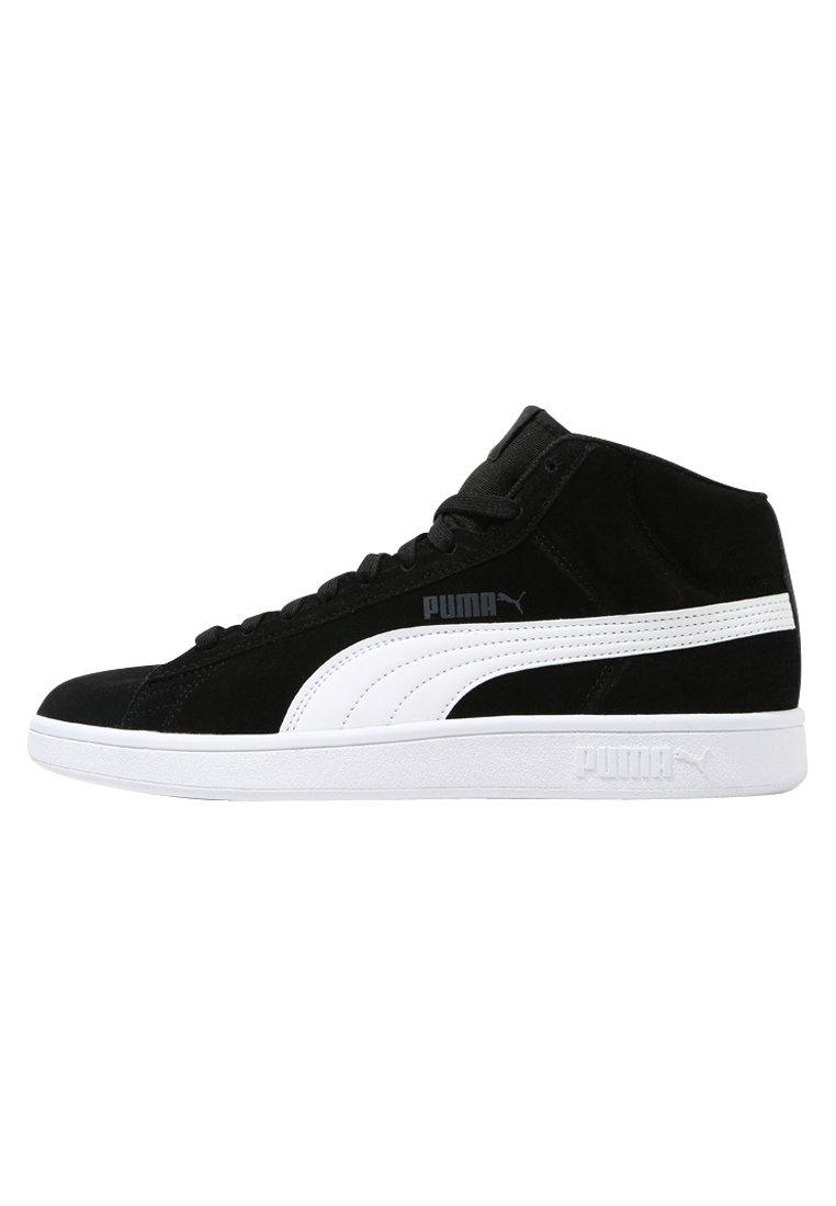 SMASH V2 MID - Sneakers hoog - puma black/puma white