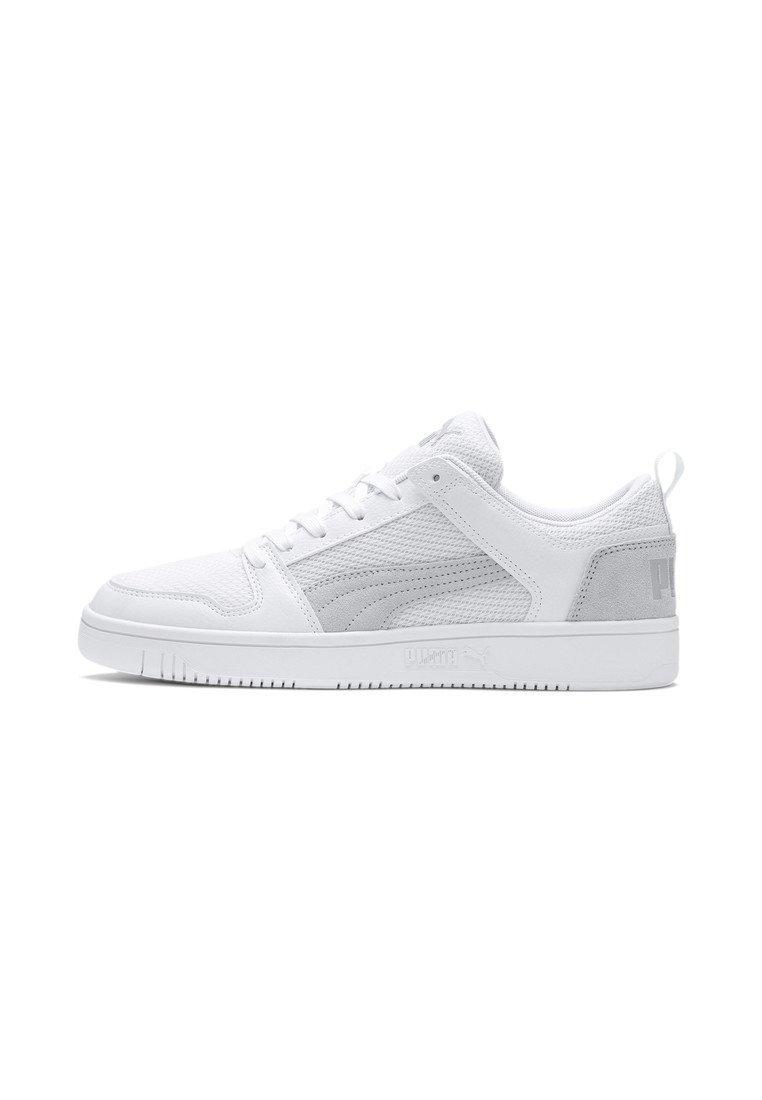 Puma - REBOUND LAYUP  - Sneakers laag - white-white-gray violet