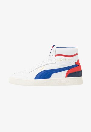 RALPH SAMPSON - High-top trainers - white/surf the web/marshmallow