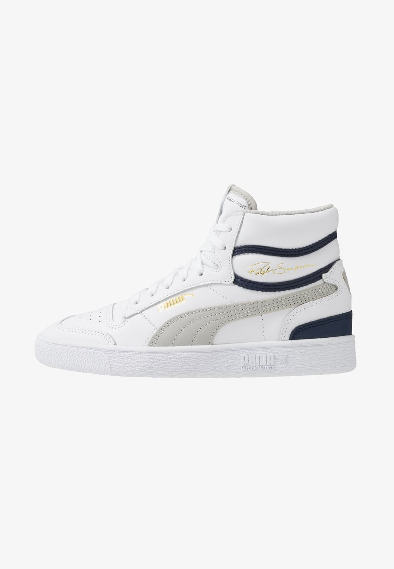 Puma - RALPH SAMPSON - Zapatillas altas - white/gray violet/peacoat