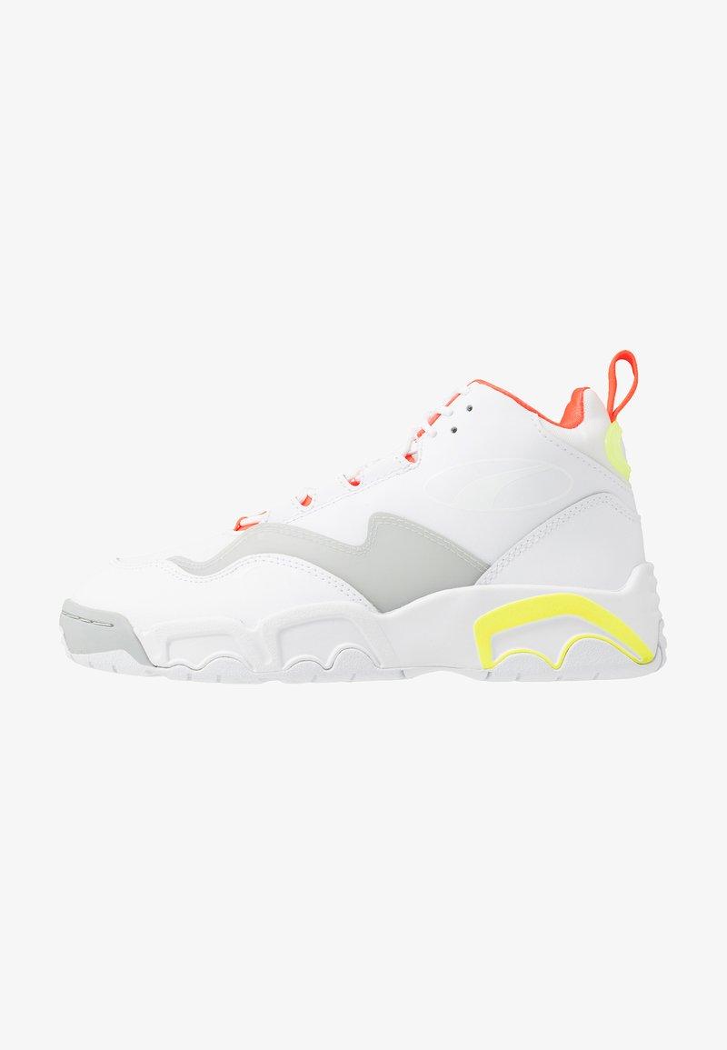 Puma - SOURCE MID BUZZER - Baskets montantes - white/yellow alert/high rise