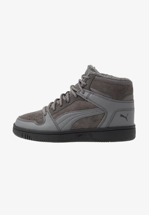 REBOUND LAYUP - Sneakers high - castlerock/black