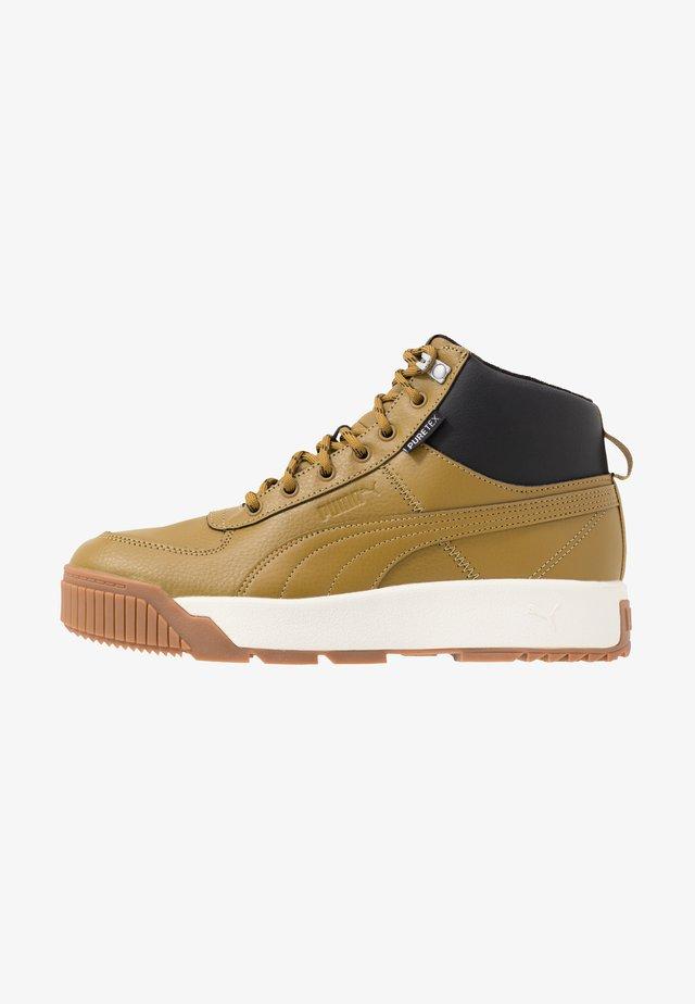 TARRENZ PURETEX - Sneakers high - moss green/black