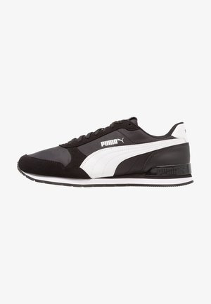 RUNNER - Sneakers basse - black/white