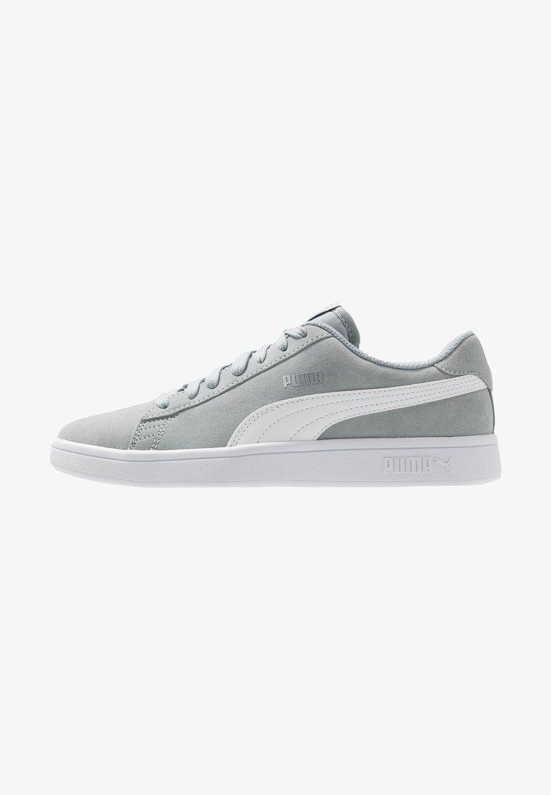 Puma - SMASH V2 - Sneaker low - high rise/silver/white