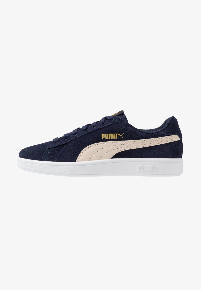 Puma - SMASH V2 - Baskets basses - peacoat/tapioca/team gold/white