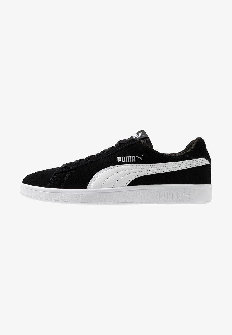 Puma - SMASH V2 - Sneakersy niskie - black/white/silver