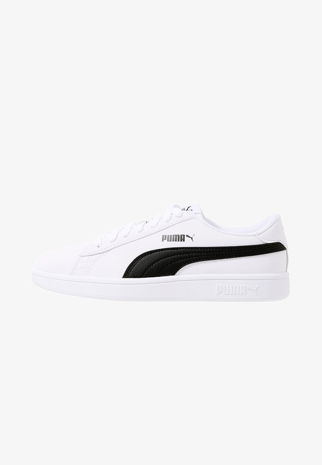 SMASH V2 BUCK - Sneakers - puma white/puma black