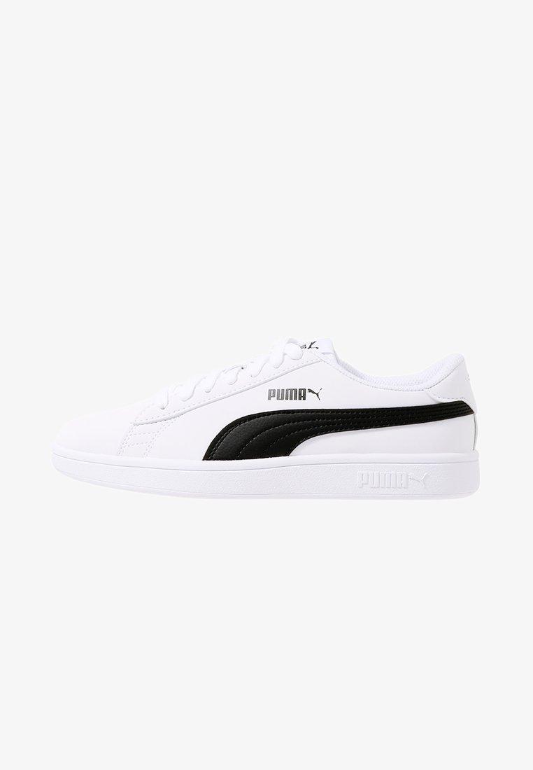 Puma - SMASH V2 BUCK - Sneakers laag - puma white/puma black