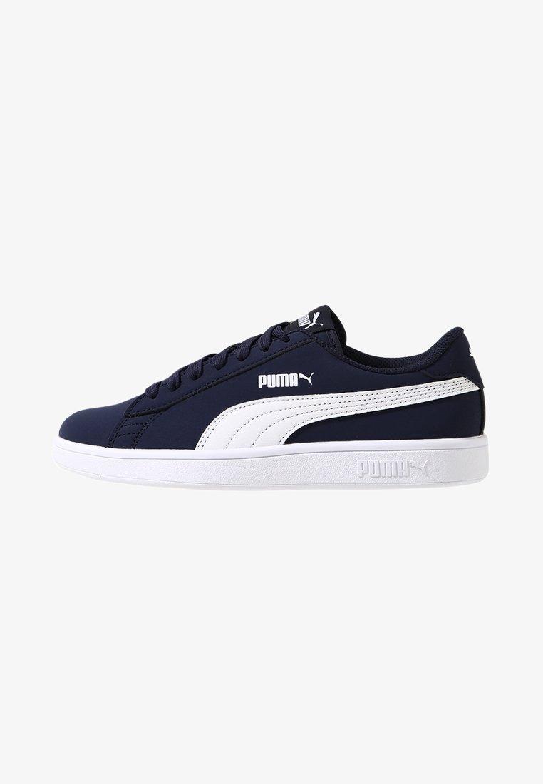 Puma - SMASH V2 BUCK - Tenisky - peacoat/white