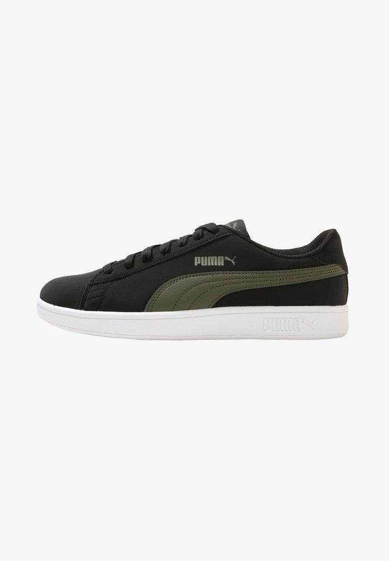 Puma - SMASH V2 BUCK - Sneakers basse - puma black/forest night