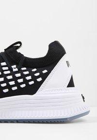 Puma - AVID FUSEFIT - Sneakers - puma black/puma white - 5