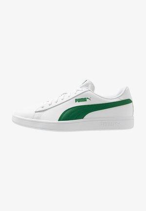SMASH - Matalavartiset tennarit - white/amazon green