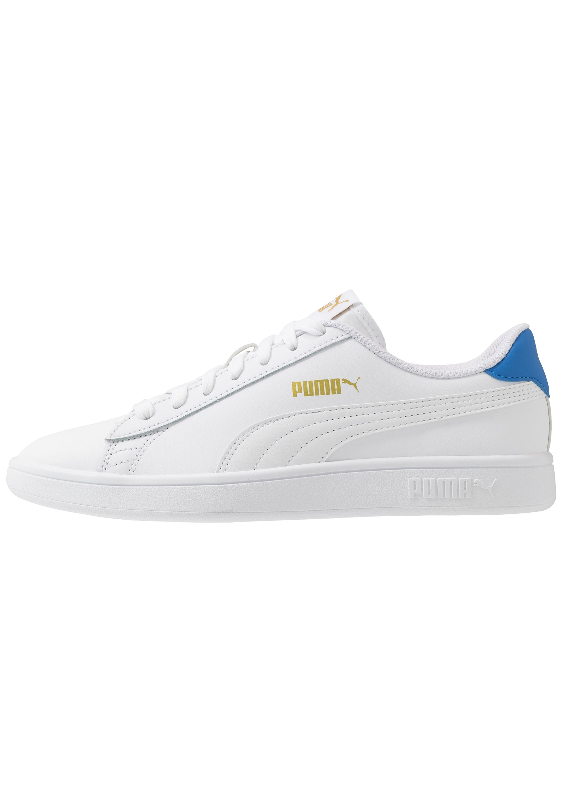 PUMA SMASH V2 L Sneakers basse whitepalace blueteam gold