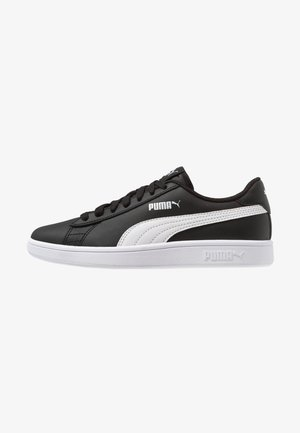PUMA SMASH V2 L - Sneakers laag - black/white