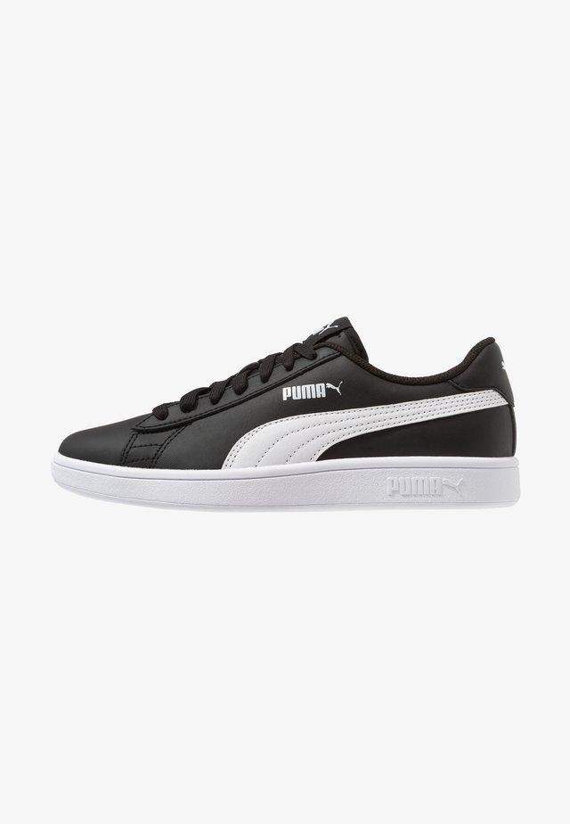 PUMA SMASH V2 L - Trainers - black/white
