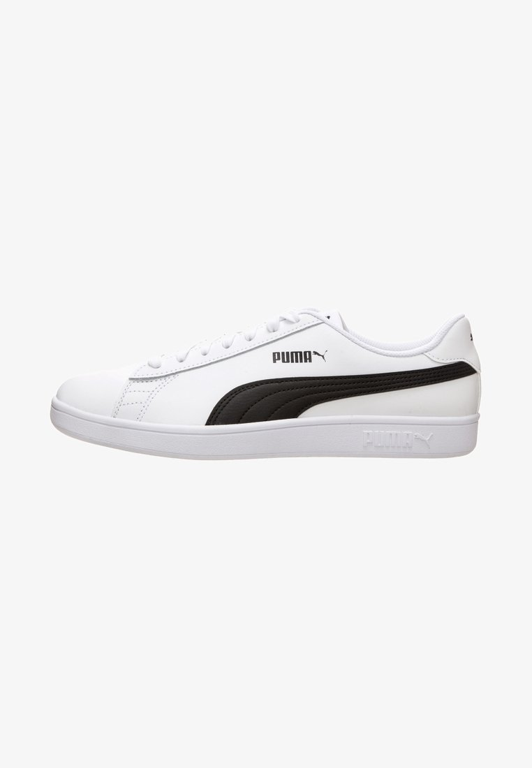 Puma - SMASH - Sneaker low -  white /  black