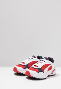 Puma - CELL VIPER - Sneakers - white/high risk red - 2