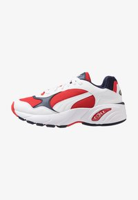 Puma - CELL VIPER - Sneakers - white/high risk red - 0