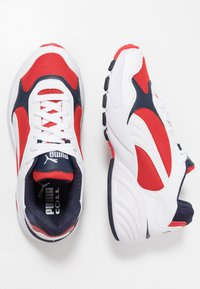 Puma - CELL VIPER - Sneakers - white/high risk red - 1