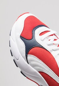 Puma - CELL VIPER - Sneakers - white/high risk red - 5