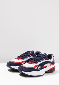 Puma - CELL - Baskets basses - peacoat/high risk red - 2