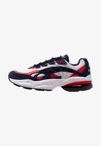 Puma - CELL - Baskets basses - peacoat/high risk red - 0