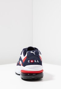 Puma - CELL - Baskets basses - peacoat/high risk red - 3