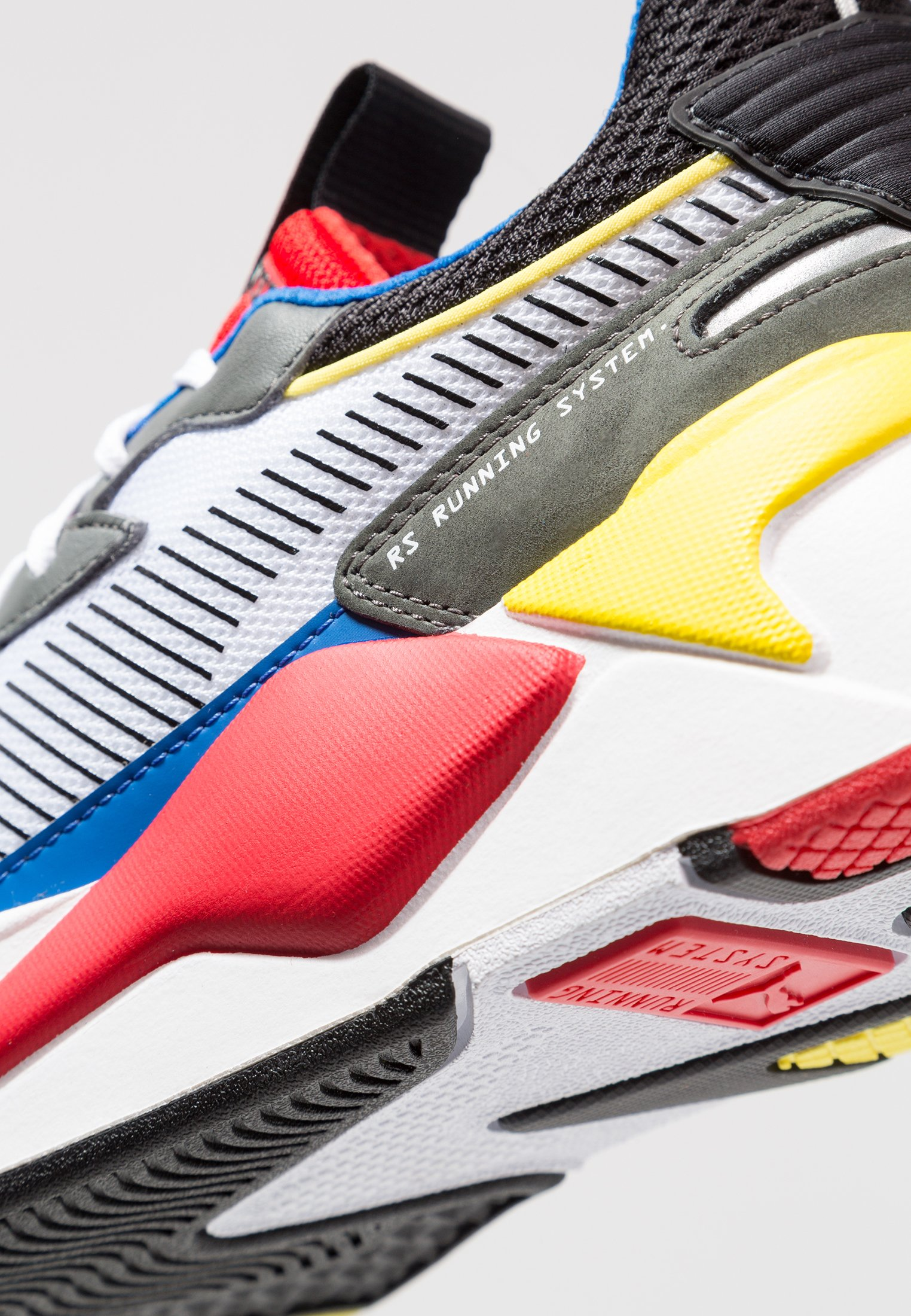 RS-X TOYS - Sneakers laag - white/royal/high risk red